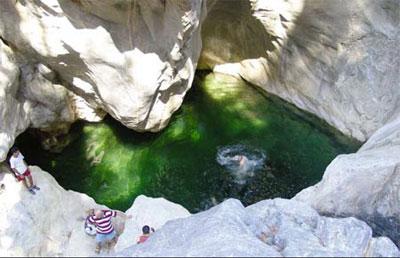 Путешествие в зеленый каньон